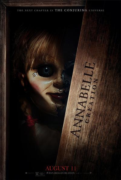 1. Annabelle: Creation Rilis Perdana 19 Juni 2017