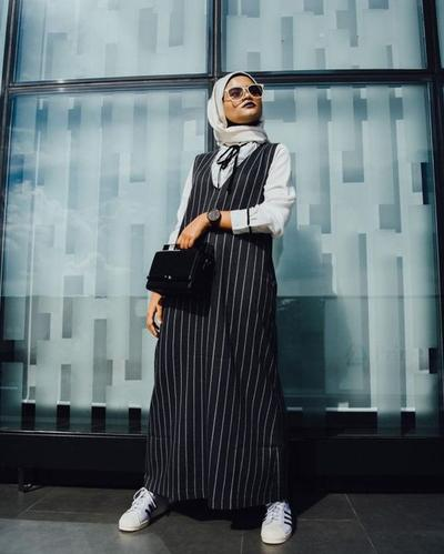 Stripes Pattern Overall