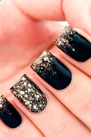 Sparkling Golden Black