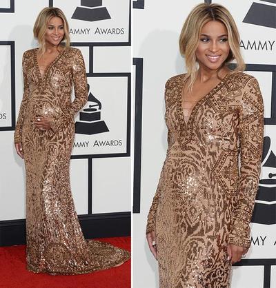 Variasi Dress Bernuansa Cokelat yang Mewah dan Menawan di Red Carpet