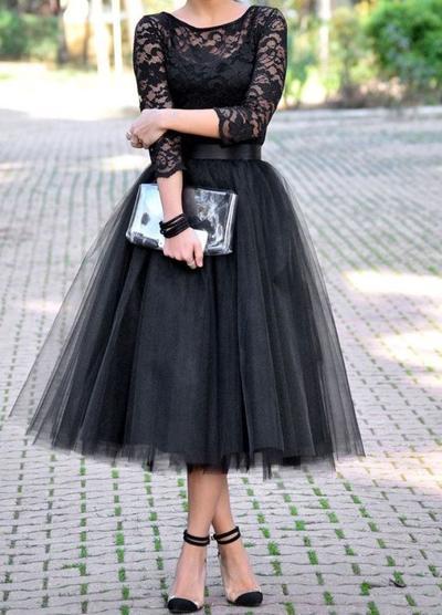 2. Tulle Skirt