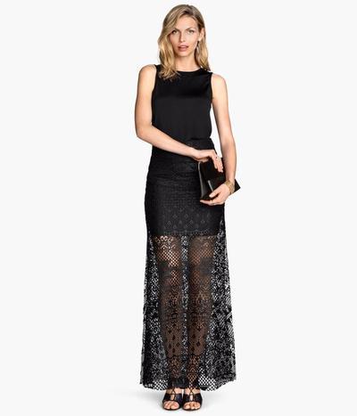5. See-trough skirt