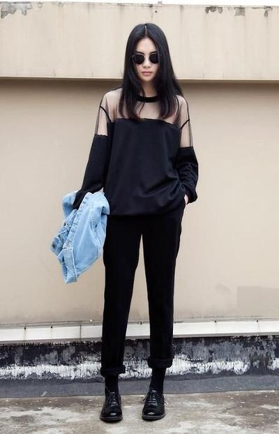 3. Stylish black