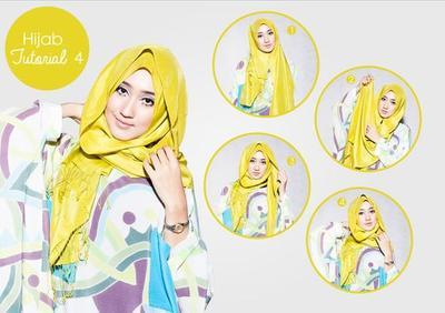 2. Layering Hijab