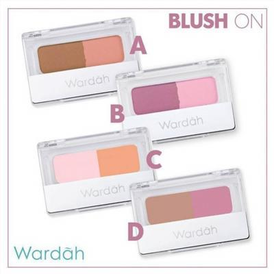 Pilihan Warna Blush On Wardah