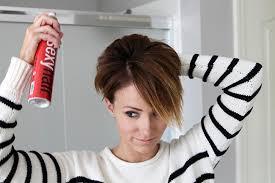 Gunakan Hairspray