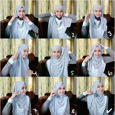 4. Hijab anting