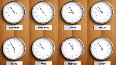 Persiapkan Perbedaan Waktu