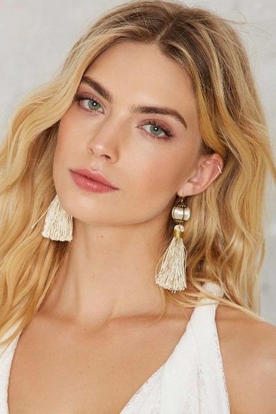 2. Tassel Earring