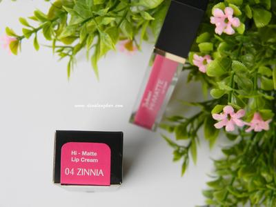 Zinnia - Purbasari Lip Cream