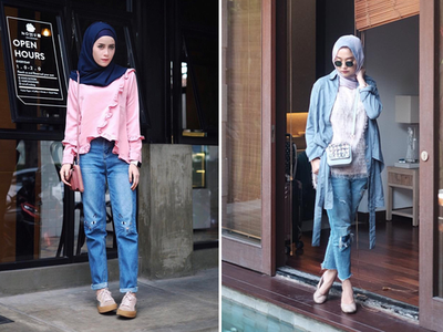 Maksimalkan Gaya Kasual Hijab Kamu dengan Ripped Jeans yang Lagi Hits Tahun Ini!