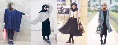 Ingin Memadukan Legging dengan Rok Hijab, Kenapa Enggak?