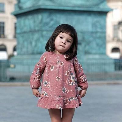 Duh, Gaya 5 Anak Perempuan Artis Indonesia Ini Bikin Gemas!
