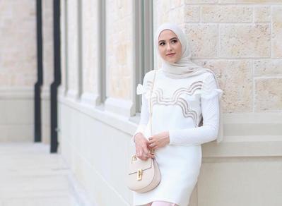 Yuk, Tampil Lebih Kekinian dengan Model Hijab Casual Ala Si Cantik Leena Asad!