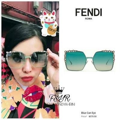 Fendi Blue Can Eye