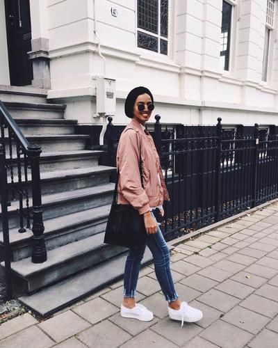 Turban Hijab Street Style