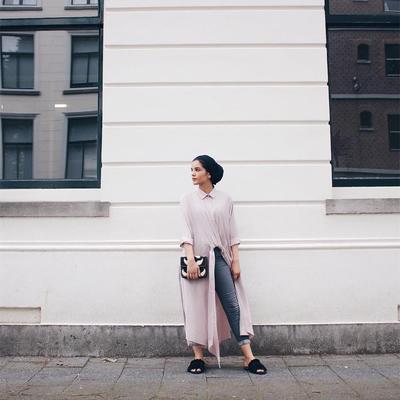 Turban Hijab dengan Tunik