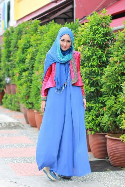Maxy Dress with Songket Outer