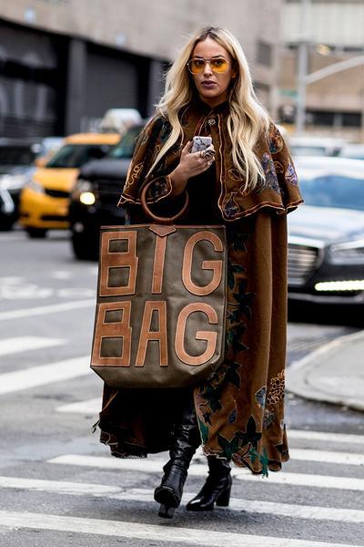 4. Oversized Tote Bag