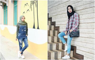 Biar Enggak Salah, Intip Yuk Gaya Boyish Selebgram Hijab yang Kekinian Banget