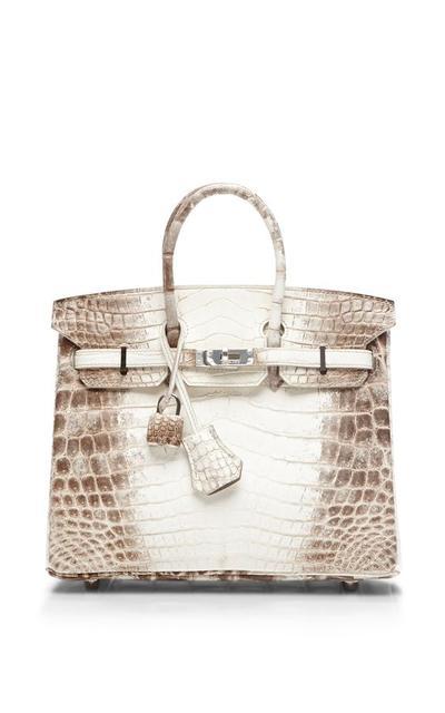 Hermes Birkin Bag Himalayan Matte Nilo Crocodile 35cm
