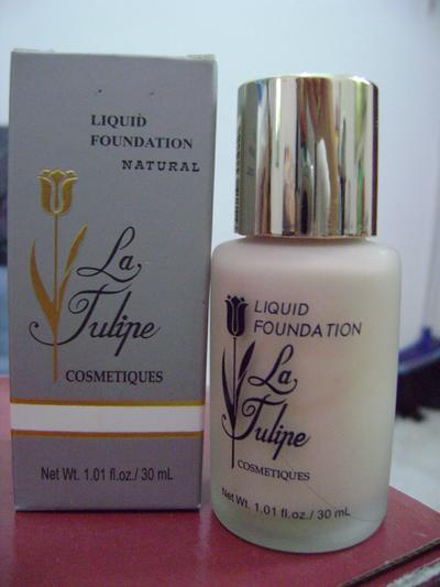 La Tulipe Perfect Foundation - Rp. 90.000