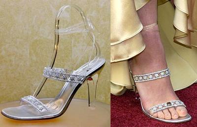 Sepatu Cinderella Stuart Weitzman