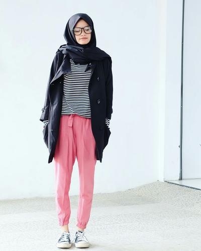 Casual Style dengan Jogger Pants dan Jaket