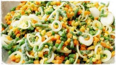 Nasi Merah dan Sayur Tumis