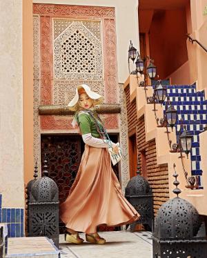 Mix and Match Hijab Colorful Ala Dian Pelangi Ini Akan Membuat Ceria Penampilan Kamu!