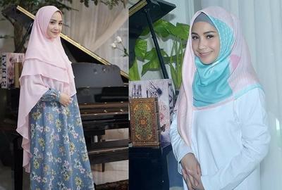 Duh! Cantiknya Nagita Slavina Menggunakan Hijab, Tertarik Coba?