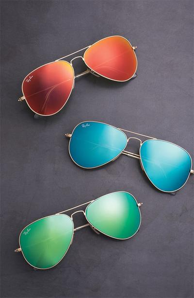 Colorful Mirror Sunglasses