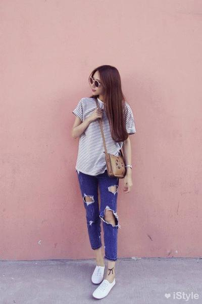 T-shirt dan Jeans