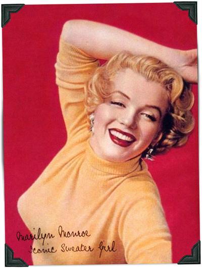 1950s: Sweater Girl