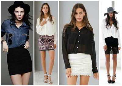 Button Down Shirt - Kendall Jenner