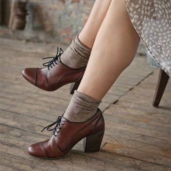 Classic Oxford Wedges