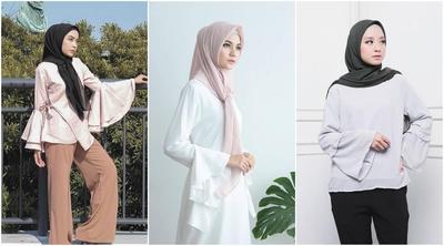 Inspirasi Mix and Match Ruffle Blouse Hijab yang Tengah Populer di 2017 Ini!