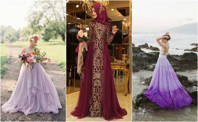 Anti Mainstream, Ini Inspirasi 5 Gaun Pengantin Warna Ungu untuk Melengkapi Hari Spesial