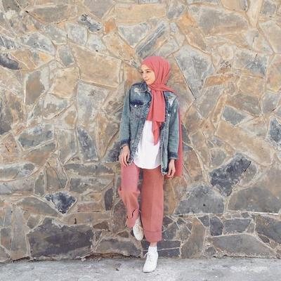 Denim Jacket and Cullotes