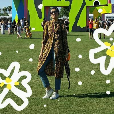 Gaya Unik Untuk Coachella