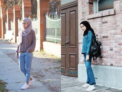 6 Model Atasan yang Cocok Dipadukan dengan Celana Jeans Agar Hijabers Nyaman Memakainya
