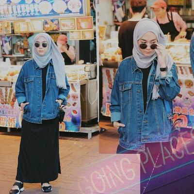 Mau Tampil Hits? Gampang, Bergaya dengan Oversized Hijab Ala Selebgram Ini Aja!