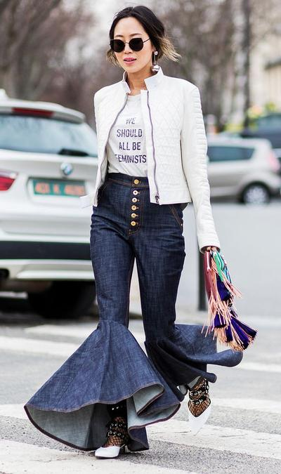 Dramatic Flares Jeans