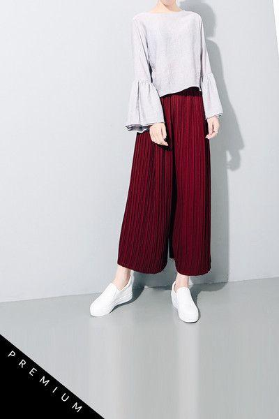 Pleated Cullotes