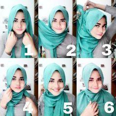 Tips Hijab untuk Hijabers Berwajah Bulat