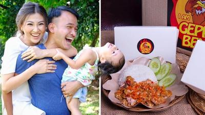 Enak dan Murah! Ini Ayam Geprek Bensu, Bisnis Terbaru Ruben Onsu