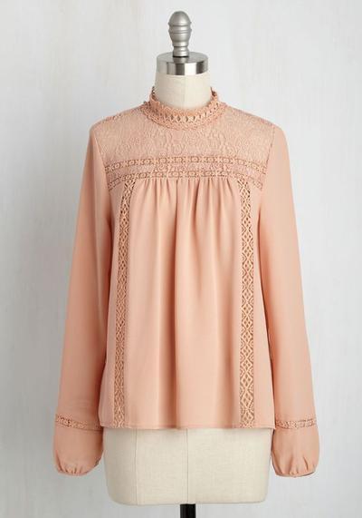 Crochet Detail Tops