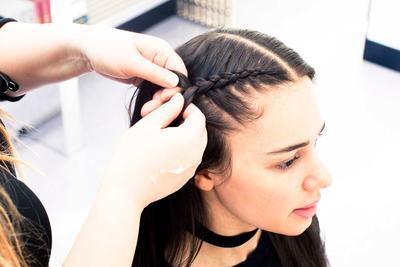 4. Braid it up