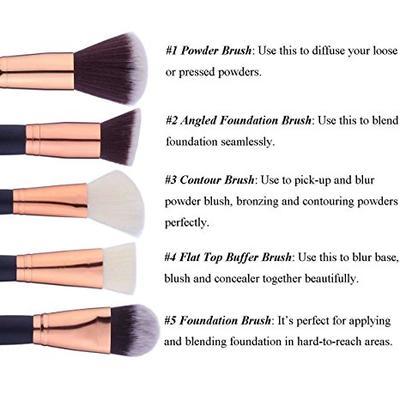 Brush for blush