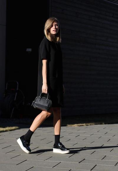 T-Shirt Dress & Socks